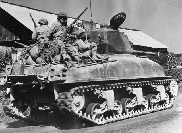 M4 Sherman WOII