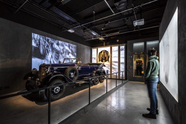 Mercedes G4 Adolf Hitler - tentoonstelling hij of ik - NMM Soesterberg